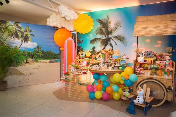 decoracao festa infantil festa tropical