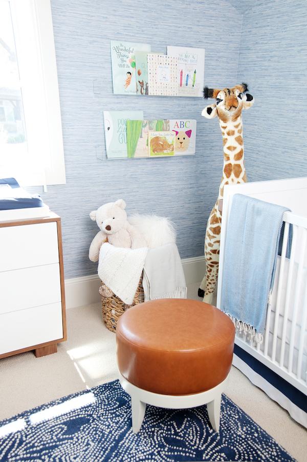 detalhes quarto de bebe azul
