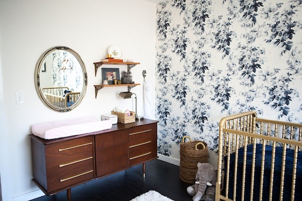 quarto de bebe decoracao vintage